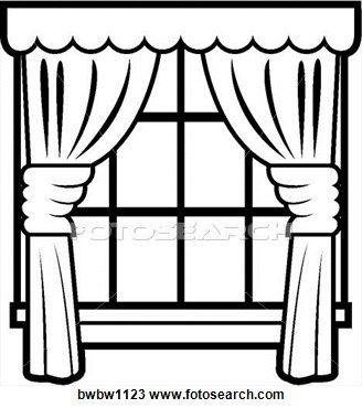 328x370 Elegant Window Clip Art Snowy Window Scene Clipart