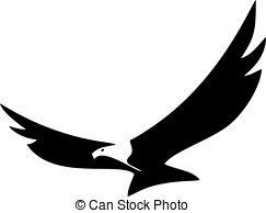 243x194 Eagle Silhouette Clipart