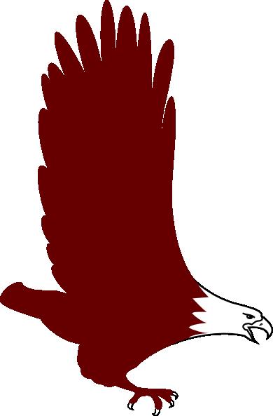 390x593 Soaring Eagle Clip Art