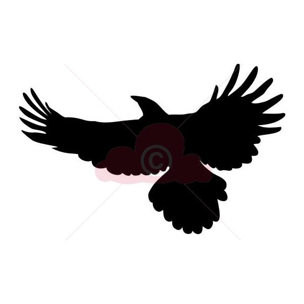 600x600 Soaring Eagle Clipart