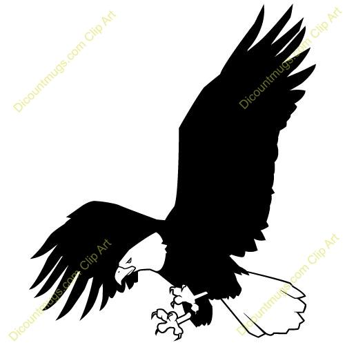 500x500 Top 10 Soaring Eagle Clip Art Free