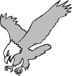 282x298 White Eagle Clip Art