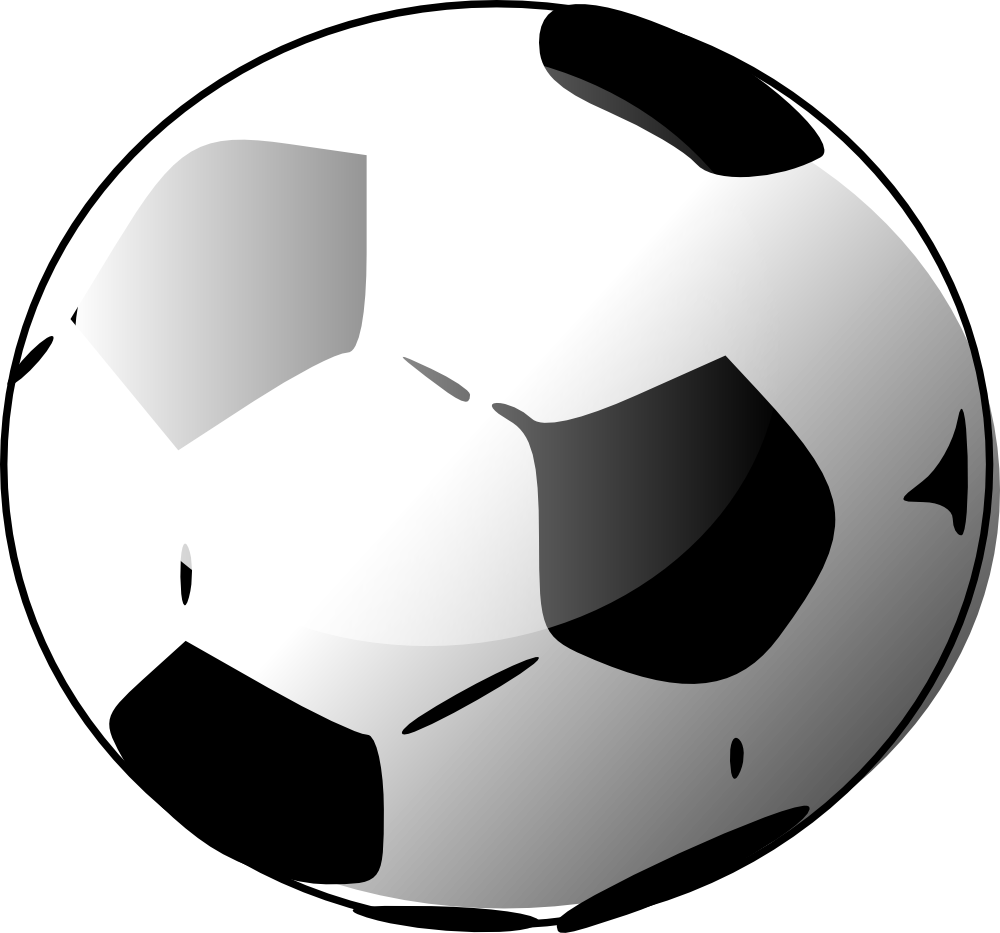 1000x933 Best Soccer Ball Clip Art