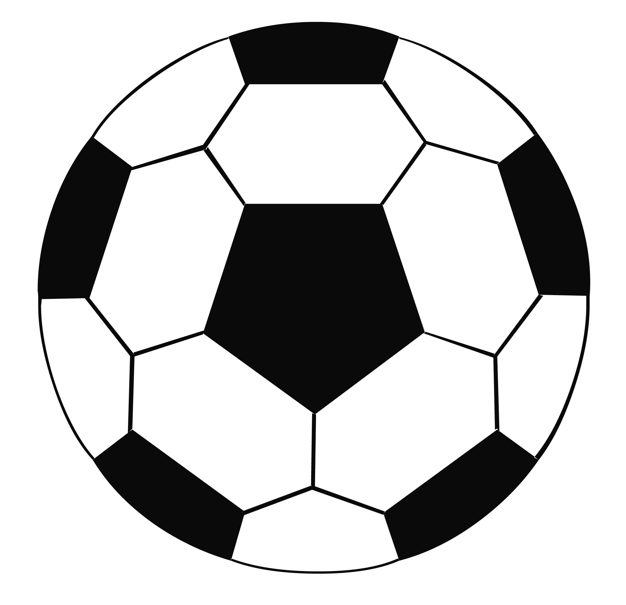 2048x1982 Soccer ball and clip art on