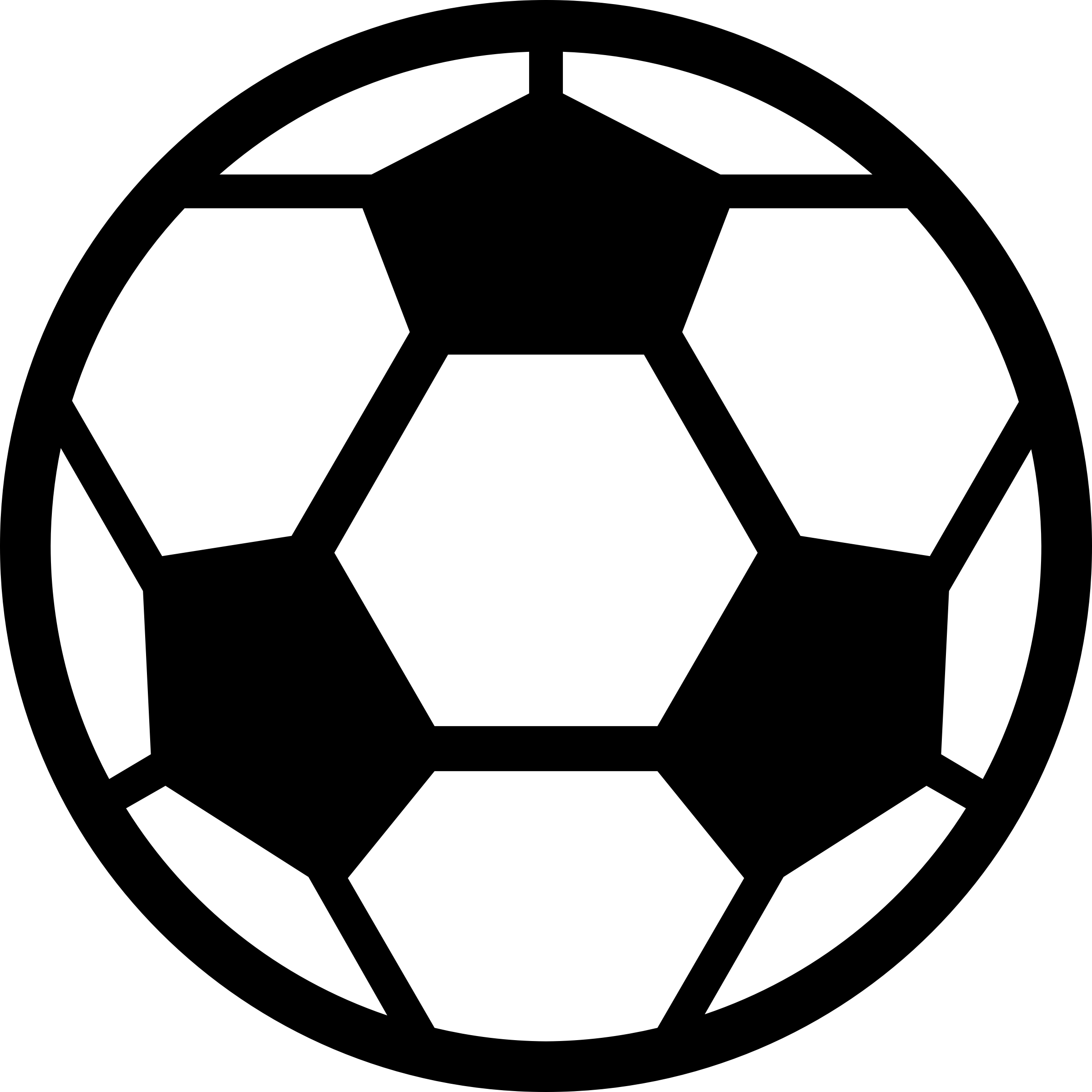 2400x2400 Soccer ball clip art free large images 3 clipartix 2