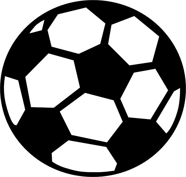 600x571 Soccer ball soccer clip art pictures image –