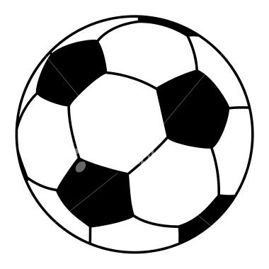 380x380 Soccer Clipart Vector Art