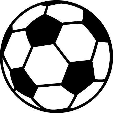 432x433 Cliparti1 Soccer Ball Clip Art Clipartcow