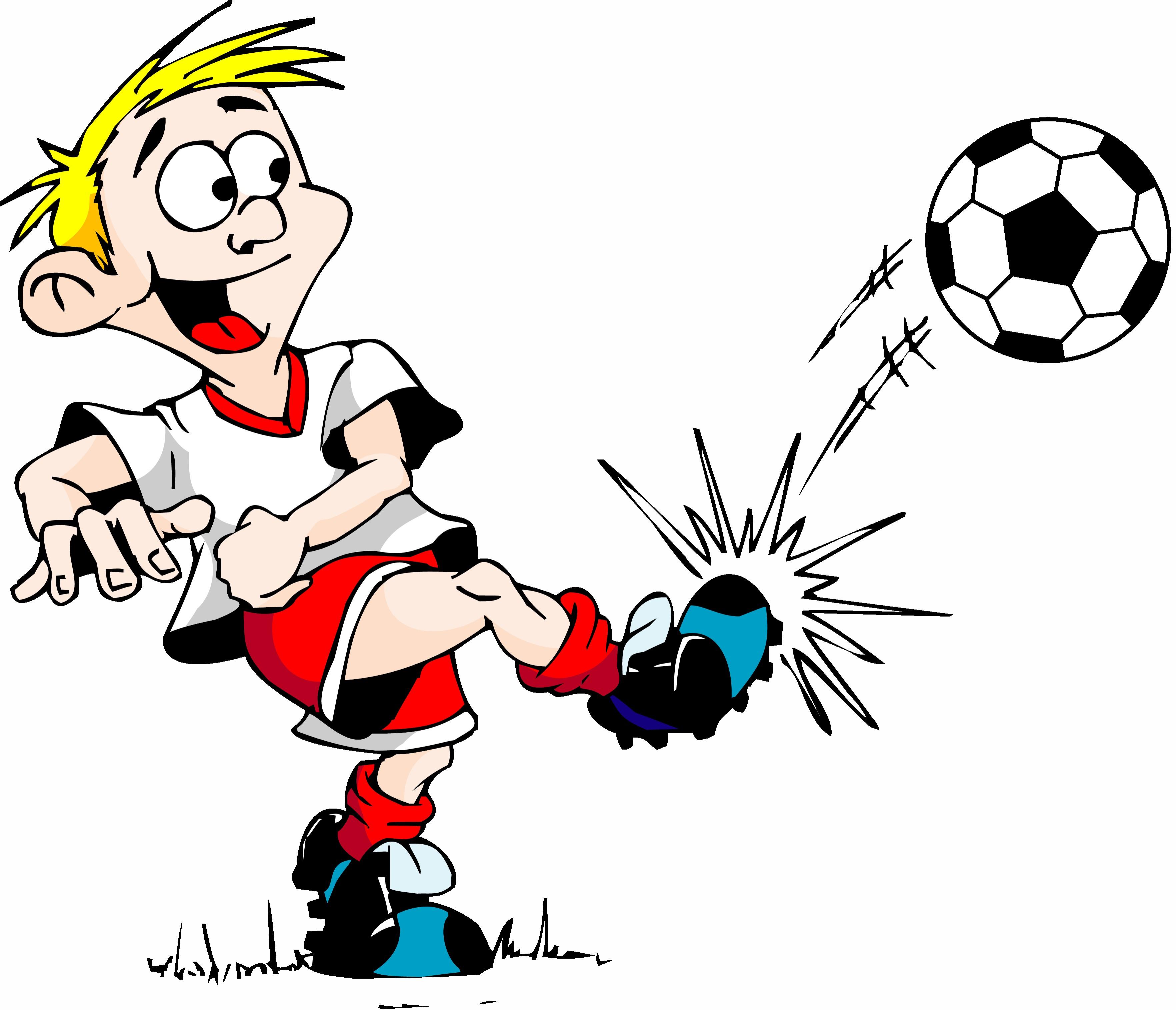 3528x3029 Free Kicking Soccer Ball Clip Art Image