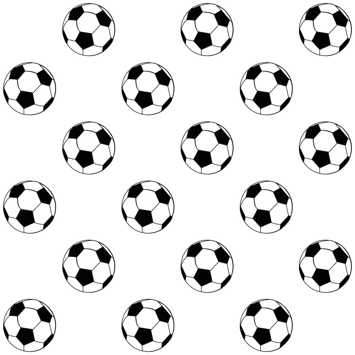 1200x1200 FREE printable football pattern paper Kira Pattern