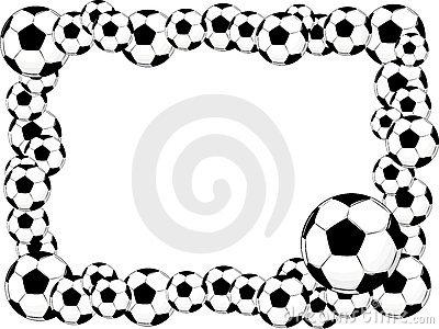 400x300 Soccer Ball Border Clip Art Clipart Panda