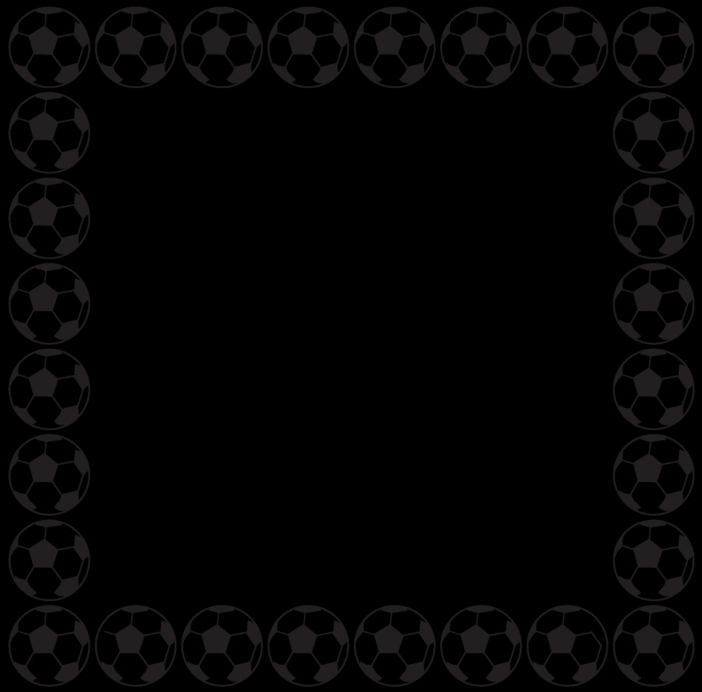 2400x2367 Soccer Ball Borders Clip Art