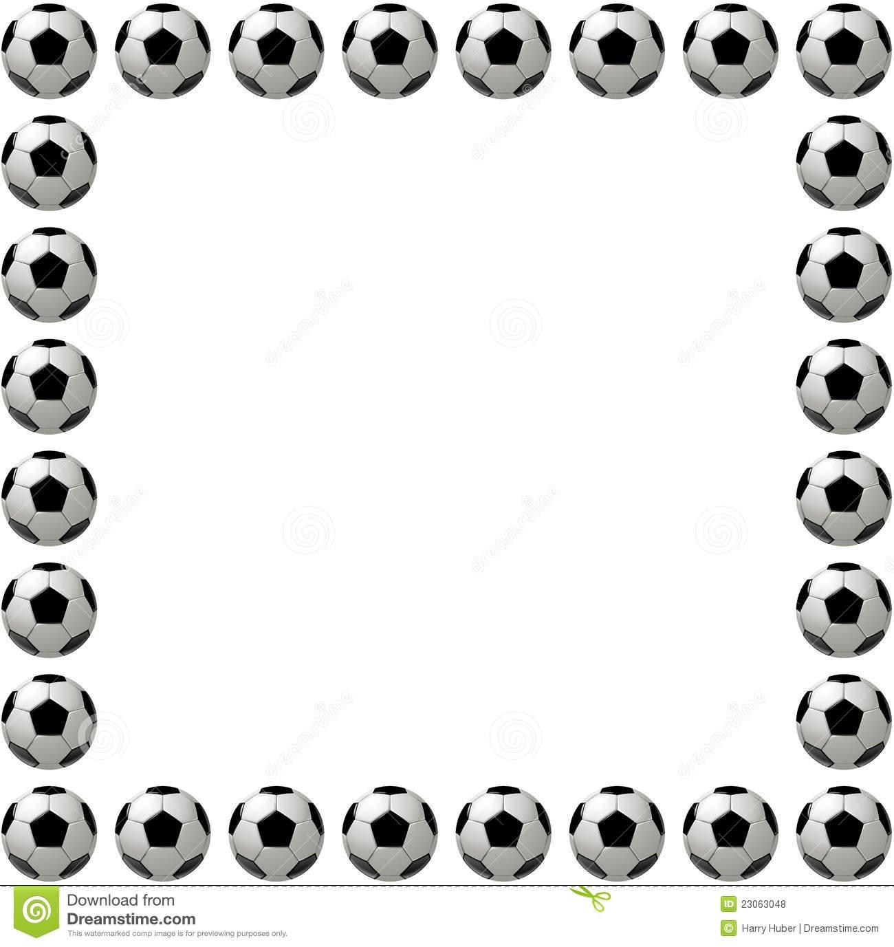 1300x1377 Soccer Border Clipart