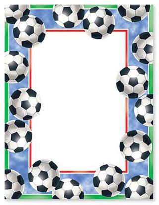 321x414 Soccer Ball Borders Clip Art