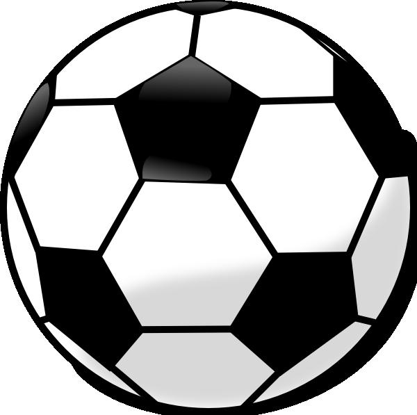 600x597 Soccer Ball Clip Art