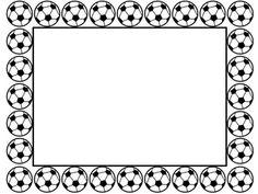 236x177 Soccer Border Clipart