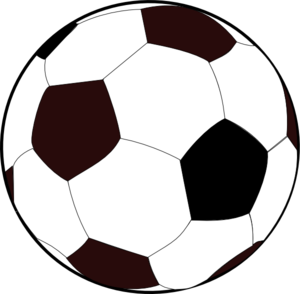300x294 Soccer Ball Border Clip Art Free Clipart Images 2