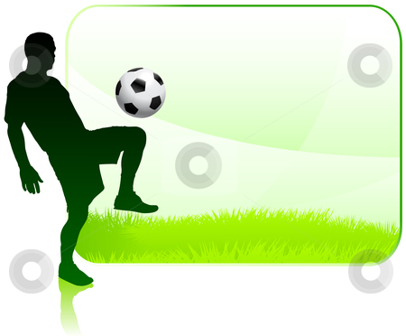 450x372 Football Clipart Frame