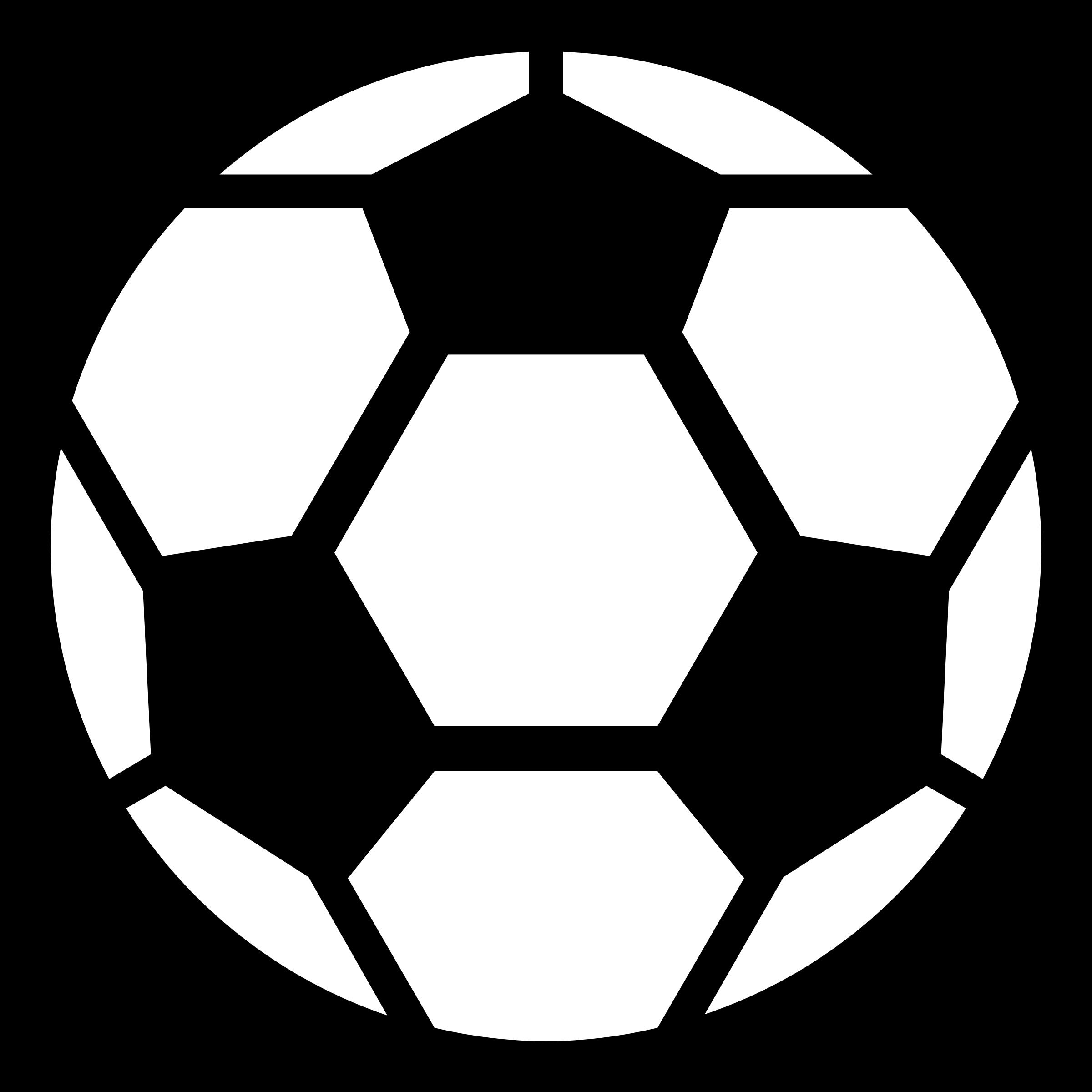 2400x2400 Soccer ball clip art 5