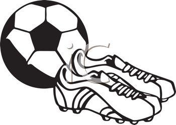 350x249 Clip Art Soccer Shoes Clipart