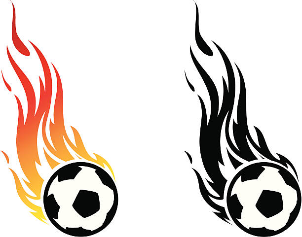 612x481 Flaming Soccer Ball Clip Art 101 Clip Art