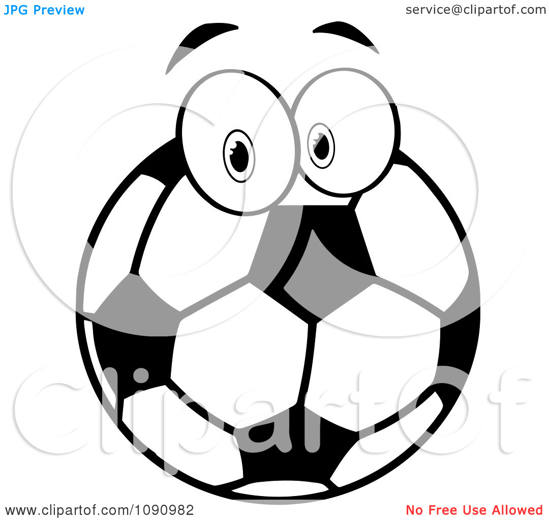 1080x1024 Soccer Ball Black And White Clipart
