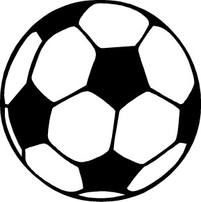 289x291 White Soccer Ball Clipart