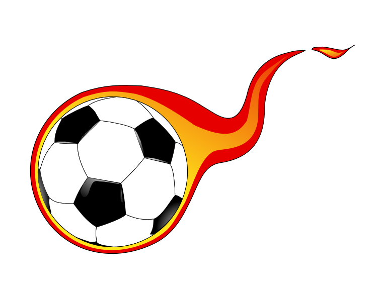 757x593 Moving Clipart Soccer