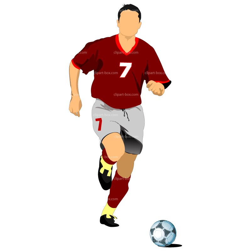 800x800 Clipart Soccer Player No Ball