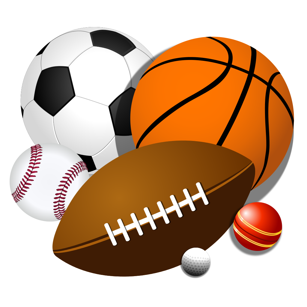 1024x1024 Randome Clipart Sports Ball