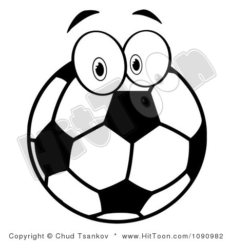 450x470 Soccer Ball Black And White Clipart