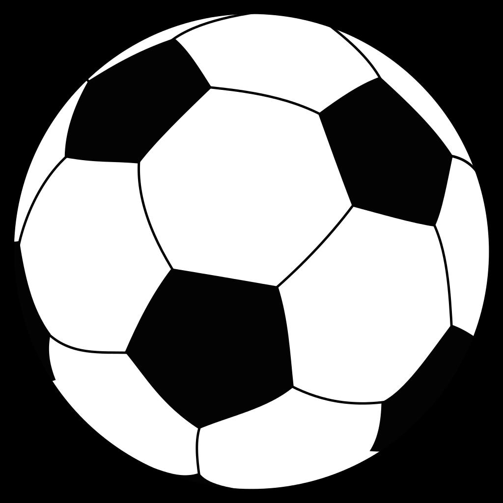 1024x1024 Soccer Ball Clipart