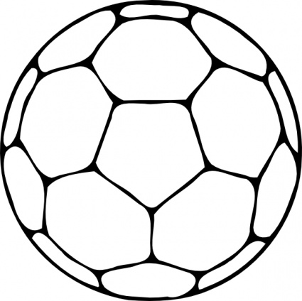 425x424 Ball Clipart Outline