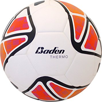 355x355 Baden Thermo Soccer Ball, Multicolor, Size 4 Sports