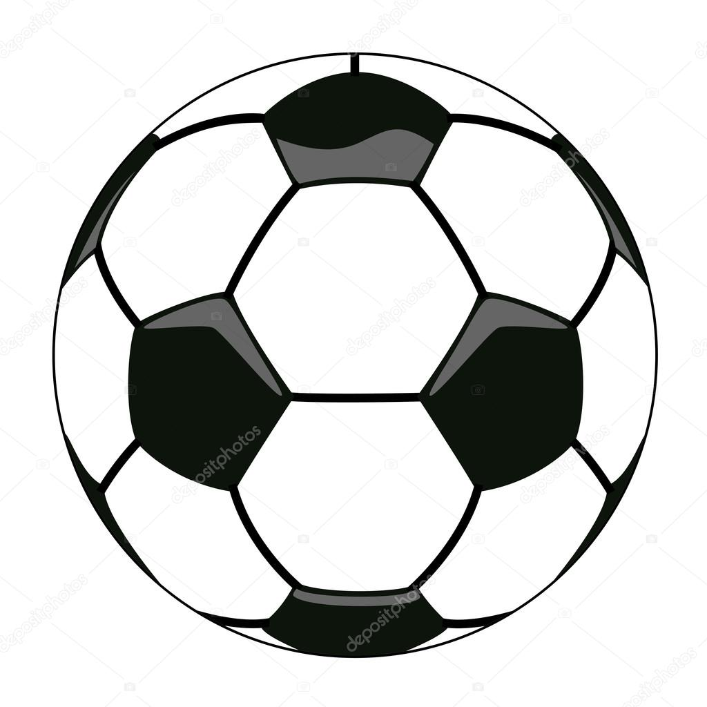 1024x1024 Vector Soccer Ball Clipart Stock Vector Dmstudio