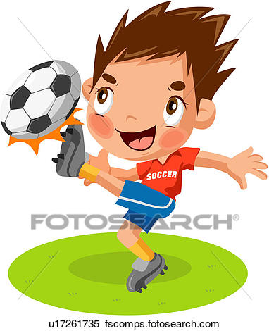382x470 Clipart Of Soccer Player, Person, Soccer Ball, Worldcup, Athlete