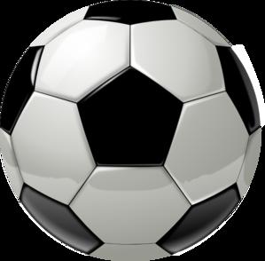 299x294 Soccer Ball Clip Art