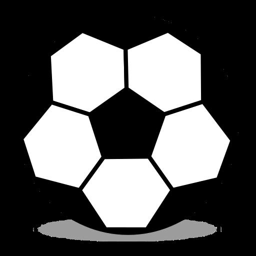512x512 Soccer Ball Emoji for Facebook, Email amp SMS ID# 12606 Emoji.co.uk