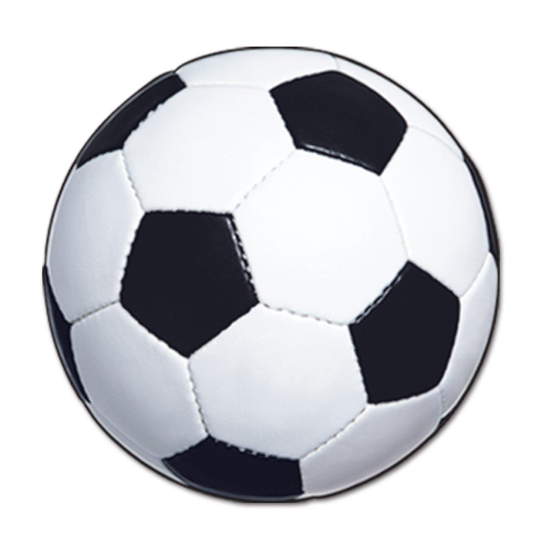 1500x1500 Beistle 24 Pack Soccer Ball Cutout, 13 12 Inch