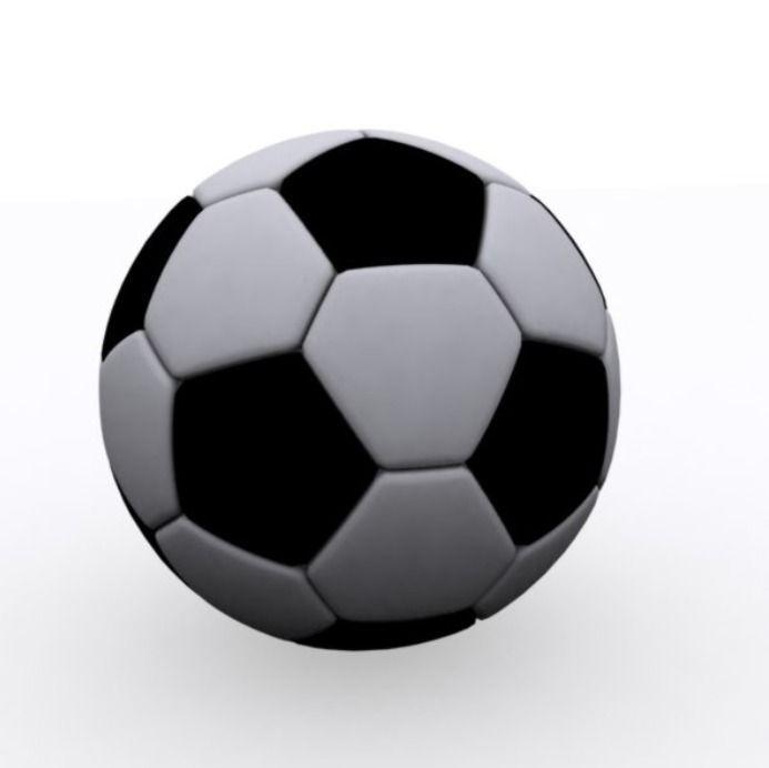693x692 3d Asset Soccer Ball Cgtrader