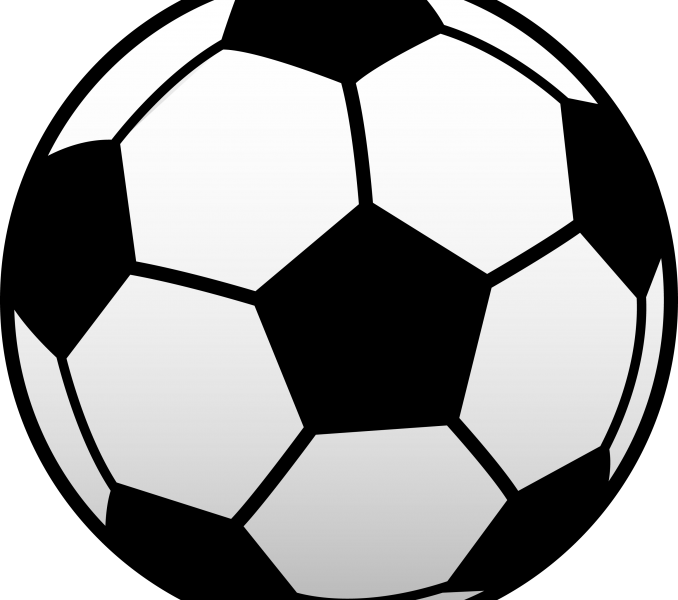 678x600 Soccer Ball Pictures Free Kids Coloring