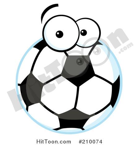 450x470 Soccer Balls Clipart