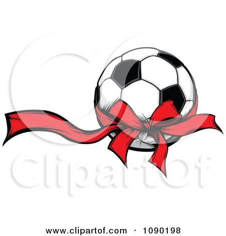 450x470 Clipart Soccer Ball Over A Tribal Circle