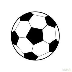 236x236 Colorful Soccer Ball Doodle Royalty Free Stock Photo