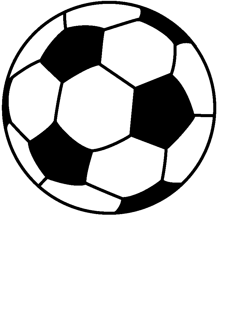 768x1049 Soccer Ball Clipart Free Images 5