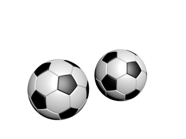 620x465 Football (Soccer Ball) Free 3d Model