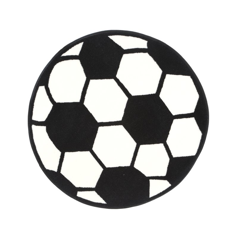 800x800 Fun Rugs Fun Shape High Pile Soccerball Sports Area Rug Amp Reviews