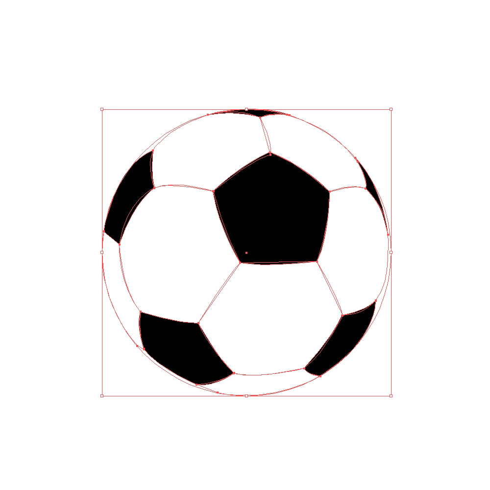 1000x1000 How To Create A Realistic Soccer Ball In Adobe Illustrator