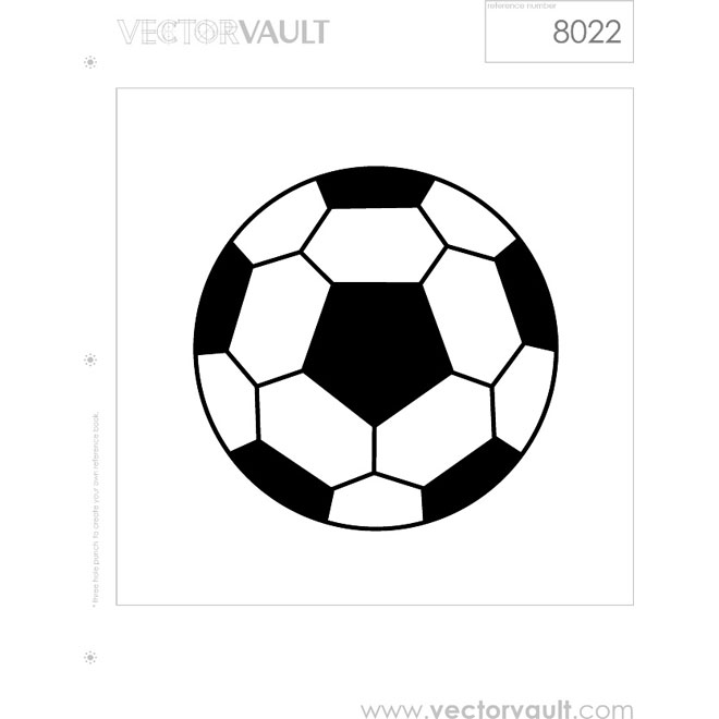 660x660 Retro Soccer Ball