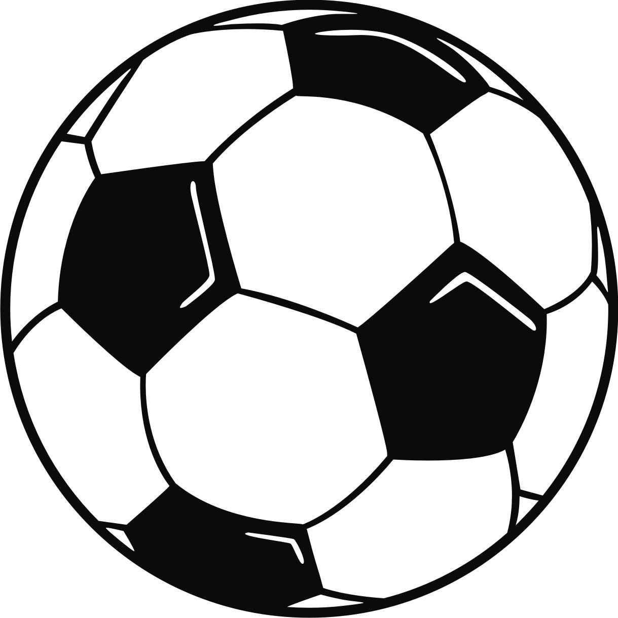 1219x1219 Soccer Ball Clipart